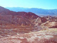Death Valley Mountains 2 Fine Art Print