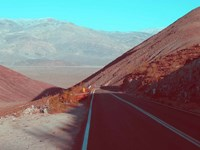 Death Valley Road 3 Fine Art Print