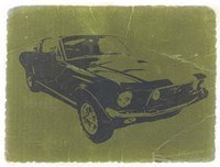 1968 Ford Mustang Fine Art Print