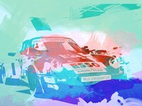 911 Before The Race Fine Art Print