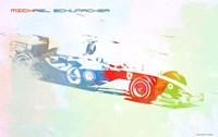 Michael Schumacher Fine Art Print