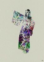 Kimono Dancer 6 Framed Print