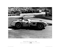 Grand Prix de Monaco 1955 Fine Art Print