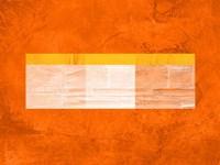 Orange Paper 3 Framed Print
