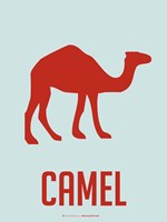 Camel Red Fine Art Print