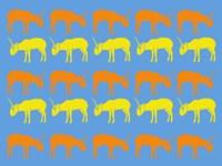 Safari 5 Framed Print