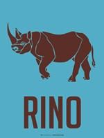 Rhino Brown Fine Art Print