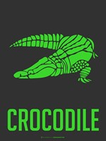 Crocodile Green Fine Art Print