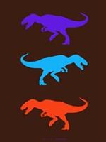 Dinosaur Family 24 Fine Art Print