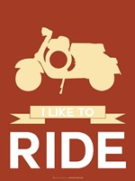 I Like to Ride 1 Fine Art Print