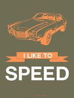 I Like to Speed 2 Fine Art Print