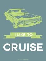 I Like to Cruise 1 Fine Art Print