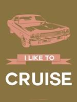 I Like to Cruise 2 Fine Art Print