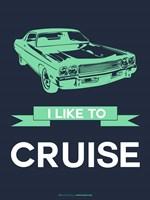 I Like to Cruise 3 Fine Art Print