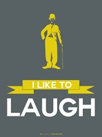 I Like to Laugh 1 Framed Print