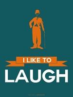 I Like to Laugh 2 Framed Print