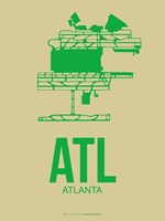 ATL Atlanta 1 Fine Art Print
