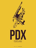 PDX Portland 3 Fine Art Print
