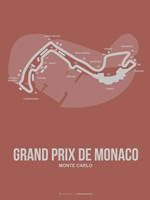 Monaco Grand Prix 1 Fine Art Print