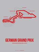 German Grand Prix 1 Fine Art Print