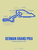 German Grand Prix 2 Fine Art Print