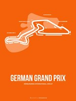 German Grand Prix 3 Fine Art Print