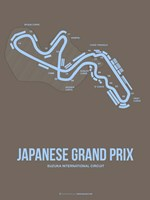 Japanese Grand Prix 1 Fine Art Print