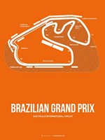 Brazilian Grand Prix 3 Fine Art Print