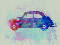 VW Beetle Watercolor 1 Fine Art Print