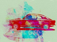Alfa Romeo  Watercolor 2 Fine Art Print