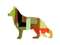 German Shepard 2 Fine Art Print