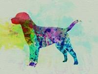 Labrador Retriever Watercolor Fine Art Print