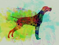 Setter Pointer Watercolor Fine Art Print