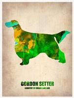 Gordon Setter 2 Fine Art Print