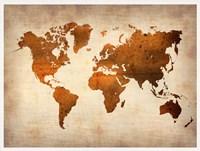 World  Map 7 Fine Art Print
