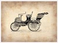Classic Old Car 2 Framed Print