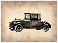 Classic Old Car 3 Framed Print
