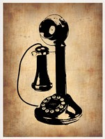 Vintage Phone 2 Framed Print
