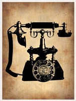 Vintage Phone 3 Framed Print