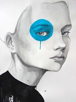 Blue Dot Fine Art Print