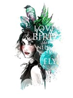 Love Bird Fine Art Print