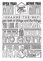 Change Set Black Fine Art Print
