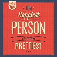 Happy Person Fine Art Print