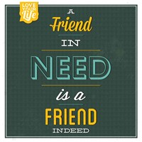 Friend Indeed Fine Art Print
