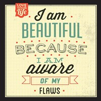 I'm Beautiful Fine Art Print