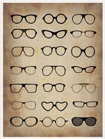 Vintage Glasses Fine Art Print