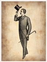 Vintage Victorian Man Fine Art Print