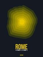 Rome Radiant Map 4 Fine Art Print