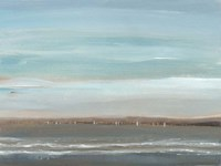Distant Coast II Framed Print