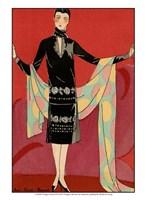 Vintage Couture IX Fine Art Print